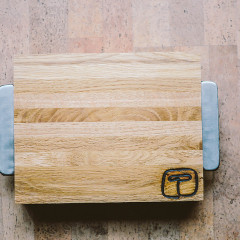Reclaimed Oregon White Oak Small Cutting Board