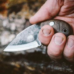 The Tooth Fixed Blade Pocket Knife